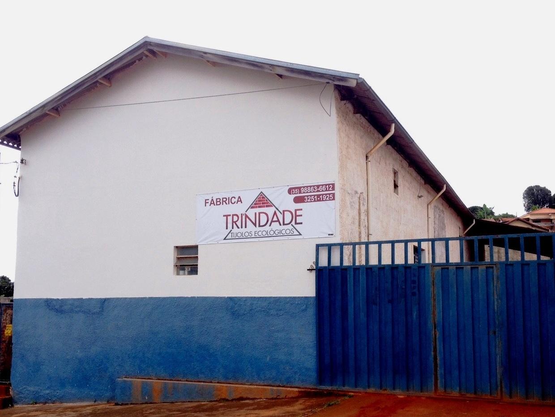 Fábrica de tijolos ecológicos em Cambuquira - MG - externa