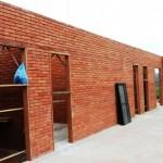 Construção com tijolo ecológico - Assentamento de esquadrias (obra em Vassouras/RJ)